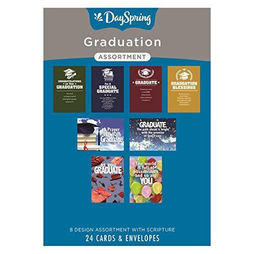Graduation - Inspirational Boxed Cards - Assorted