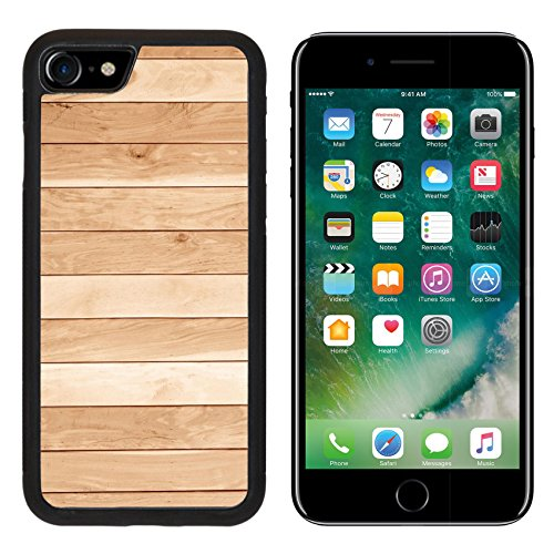 Oak Plank Classics (Luxlady Premium Apple iPhone 7 Aluminum Backplate Bumper Snap Case iPhone7 IMAGE ID: 26968870 teak wood plank texture with natural patterns teak plank teak wall)