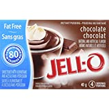 JELL-O Instant Pudding - Fat-Free Chocolate 40G x 24