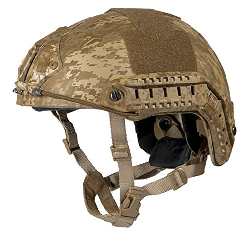 Lancer Tactical FAST Helmet MH Type Desert Digital CA-726MD