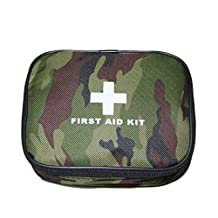 Complete First Aid Kit for Use in Home and Travelling- GlobalCareMarket Model (GCM-M11) Compact Essential First Aid Kit (Military Kit)