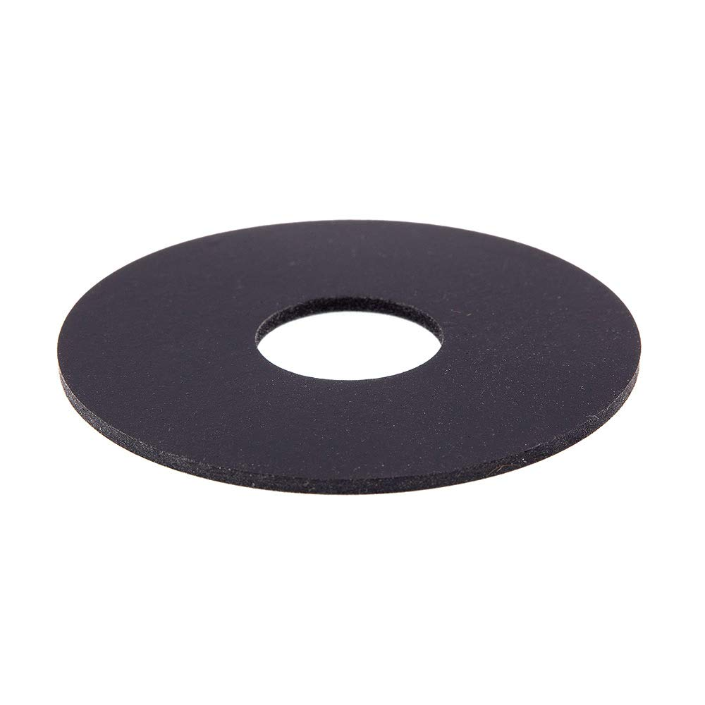 Prime Line 9086162 Fender Washers 5 8 in. X 2 in. OD Black Neoprene 5 Pack