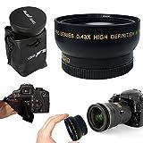 I3ePro 58mm WIDE ANGLE Lens Attachment for 58mm Thread Lenses and for CANON EOS 70D 60d 60Da 7D 6D 5D 7D Mark II EOS REBEL T6i T6S T5 T5i T4i T3 T3i T2i T1i EOS M EOS M2 EOS 750D 700D 650D 600D 550D