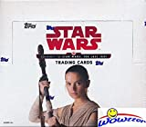 #1: 2017 Topps Journey to Star Wars: The Last Jedi MASSIVE Factory Sealed Retail Box with 24 Packs & 144 Cards! Includes 24 Parallels & 24 Insert Cards! Look for Autographs, Sketch Cards & Relics! WOWZZER