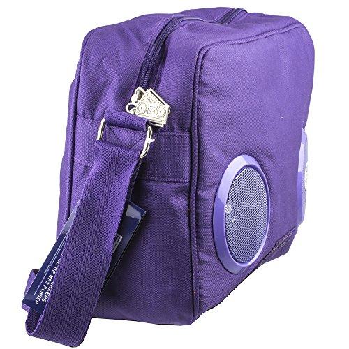 Fydelity Borsa Messenger, viola (Viola) - 92419