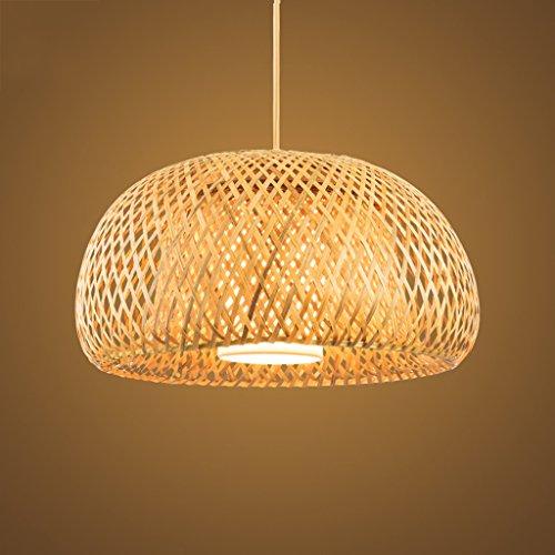 Wooden Ceiling Lamp/ Wood Lamp/ Classic Pendant Light/Handmade Bamboo Rattan Lamp/Aisle Corridor Balcony Lamp/ Home Decorative Lamp/ Eco Wood Chandeli…