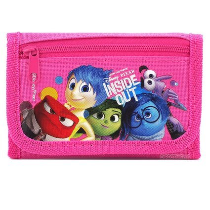 Wallet - Disney - Inside Out Pink Trifold New 0812033-pink FAB Starpoint 812033PLM