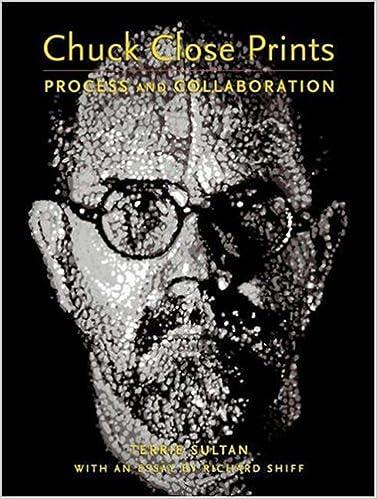 Process and Collaboration Chuck Close Prints