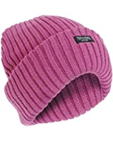 FLOSO® Ladies/Womens Chunky Knit Thermal Thinsulate Winter/Ski Hat (3M 40g)
