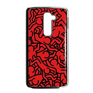 The Red Crowd Cell Phone Case for LG G2