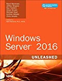 img - for Windows Server 2016 Unleashed (includes Content Update Program) book / textbook / text book