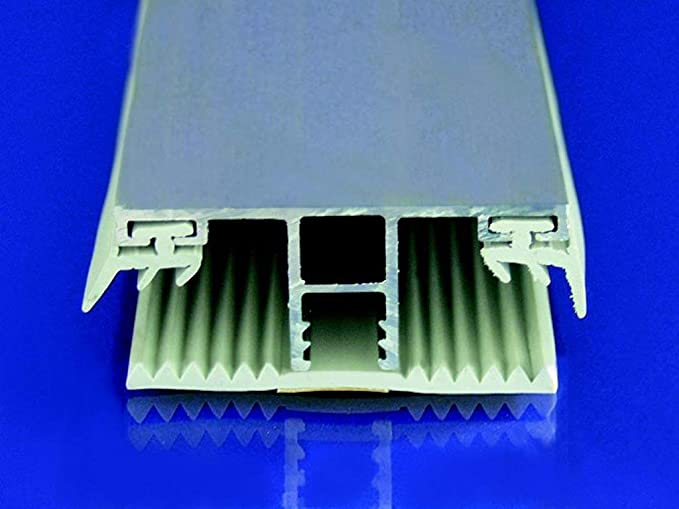 Alu Abschlussprofil f/ür Stegplatten Pressblank 16mm 980mm