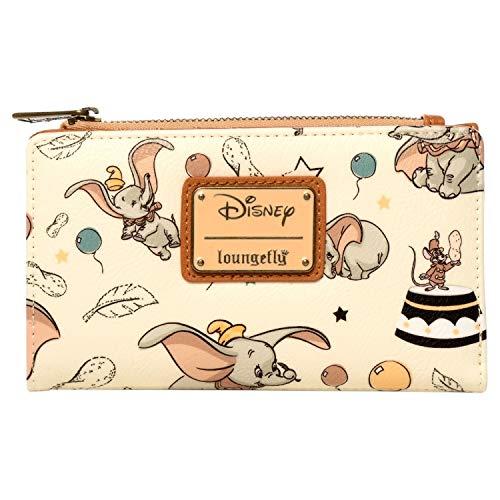 Loungefly Disney Dumbo Faux Leather Flap Wallet - WDWA0889