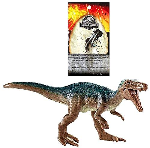 Treasure FAST LARGE BLACK AND GOLD BARYONYX Jurassic World Minifigure Dinosaur