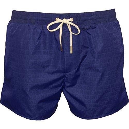 DSquared2 Wet-Reveal Logo Men's Swim Shorts, Royal Blue X-Large Royal Blue by DSQUARED2
