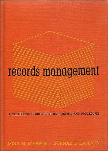 Records Management Collegiate Systems Procedures