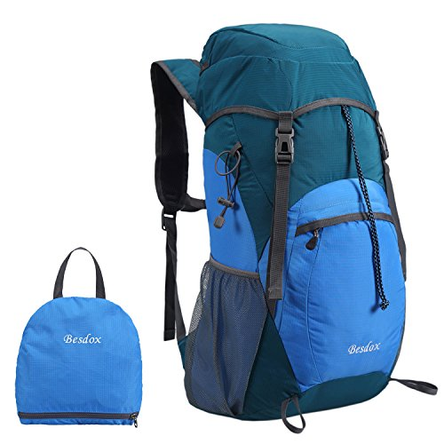Besdox Foldable Backpack Lightweight Resistant
