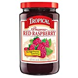 Tropical Preserves, Red Raspberry, 18 Ounce (Pack of 12)