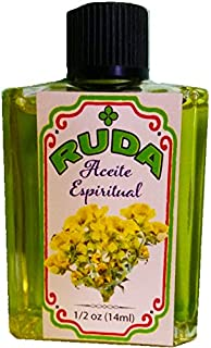 Rue, Spiritual Oil for Magic and Rituals. Aceite Espiritual Ruda Para Rituales Y Magia