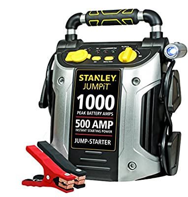 STANLEY J509 Jump Starter: 1000 Peak/500 Instant Amps
