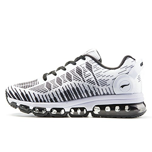 Onemix Womens Air Running Shoes Casual Sneakers Sportive Bianche