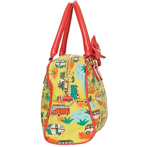 Dancing Days, Borsa a mano donna multicolore multicolore