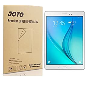 Galaxy Tab S3 9.7 Screen Protector - JOTO Anti Glare, Anti Fingerprint (Matte Finish) Screen Protector Film Guard for Samsung Galaxy Tab S3 9.7 Tablet,3 Count