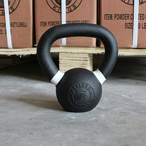 Kettlebell Kings | Cast Iron Kettlebell | Designed for Home Workouts, Swings & Strength Training