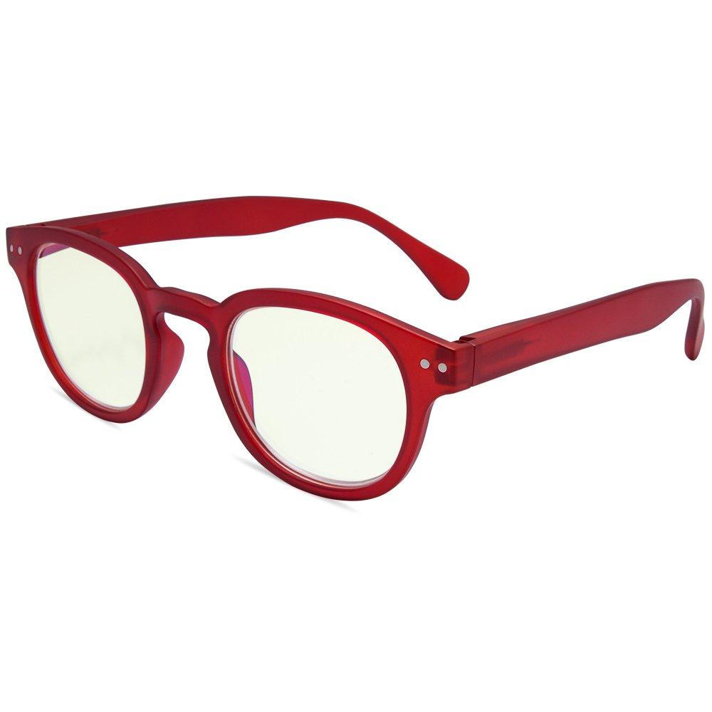 EYEGUARD Anti Blue Light Glasses For Kids Spring Hinges Computer Glasses,UV Protection Anti Glare Eyeglasses