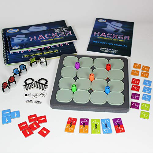 ThinkFun Hacker Cybersecurity Coding Game and STEM Toy for Boys and Girls Age 10 and Up