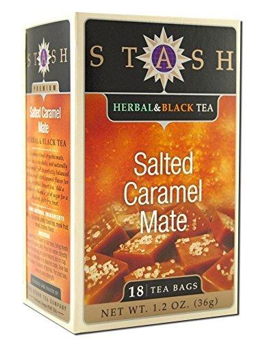 Stash Herbal Black Tea Salted Caramel Mate (2 Boxes)
