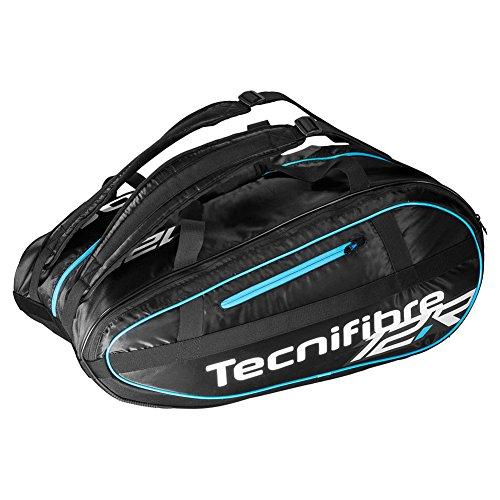 TECNIFIBRE TL12R Team Lite 12 Pack Tennis Bag Black and Blue