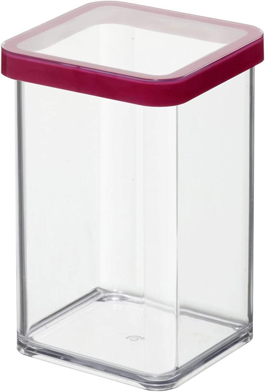 sans BPA Plastique PP Rotho Loft Gobelet Gradu/é de 0,6 l avec Poign/ée Souple Transparent // Vert 0,6L Anneau Antid/érapant et Echelle 17,6 x 11,9 x 9,7 cm