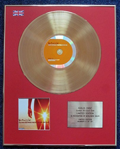Fatboy Slim - Limited Edition CD 24 Carat Gold Coated LP Disc - Halfway Between the Gutter and the Stars (Halfway Between The Gutter And The Stars)