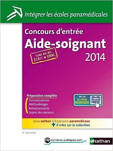 Lire un Concours d'entrée Aide-Soignant 2014 epub, pdf
