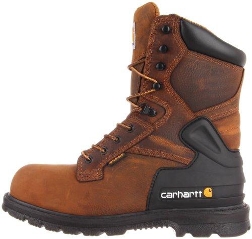 Pictures of Carhartt Men's CMW8200 8 Steel Toe Bison Brown 15 W US 4