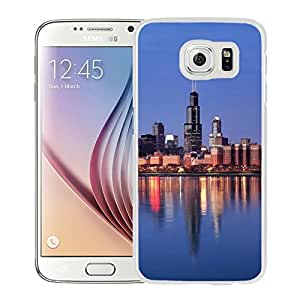 New Beautiful Custom Designed Cover Case For Samsung Galaxy S6 With Lake Michigan (2) Phone Case