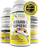 * Super C Capsules * PUREST Vitamin C Capsules ** One of The Only 100% Daily Value Vitamin C Capsules Available – SLAMS – Vitamin C Gummies – Vitamin C Powder – for Men, for Women - for Kids