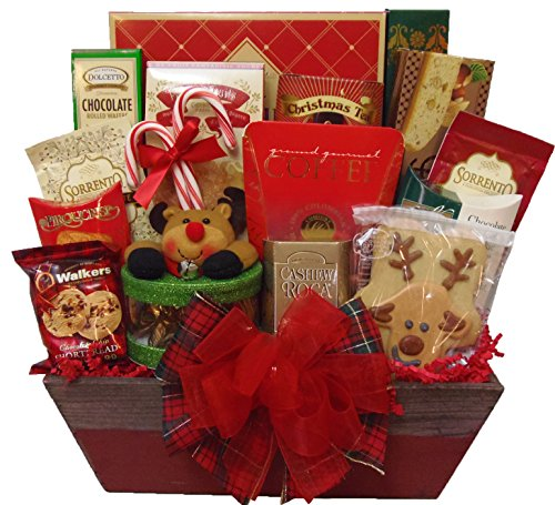 Delight Expressions Warm Greetings Gourmet Food Gift Box - A Christmas Gift Basket Idea ()