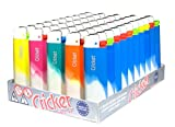 Cricket Disposable Lighters Original, Fusion Candy, 50 Pack