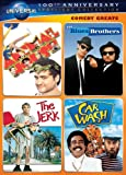 DVD : Comedy Greats Spotlight Collection (National Lampoon's Animal House / The Blues Brothers / The Jerk / Car Wash)