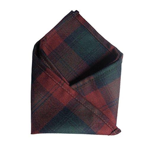 Ingles Buchan Mens Scottish Tartan Pocket Square Lindsay (Lindsay Tartan)