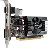 MSI Gaming GeForce GT 710 2GB GDRR5 64-bit HDCP Support DirectX 12 OpenGL 4.5 Single Fan Low Profile Graphics Card (GT 710 2GD5 LP)