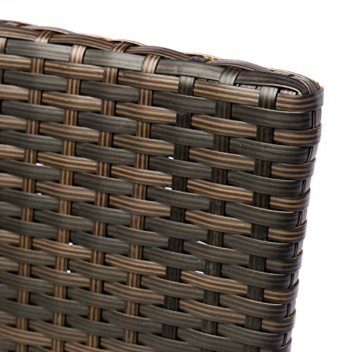 HANs Outdoor Rattan Furniture Sets 4PC Wicker Patio Furniture with Cushioned Seats by HANs (Image #5)