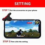 Fortnite PUBG Mobile Controller,CISTIOD Sensitive Shoot and Aim Keys Shooter Controller for PUBG/Fortnite/Knives Out/Rules of Survival