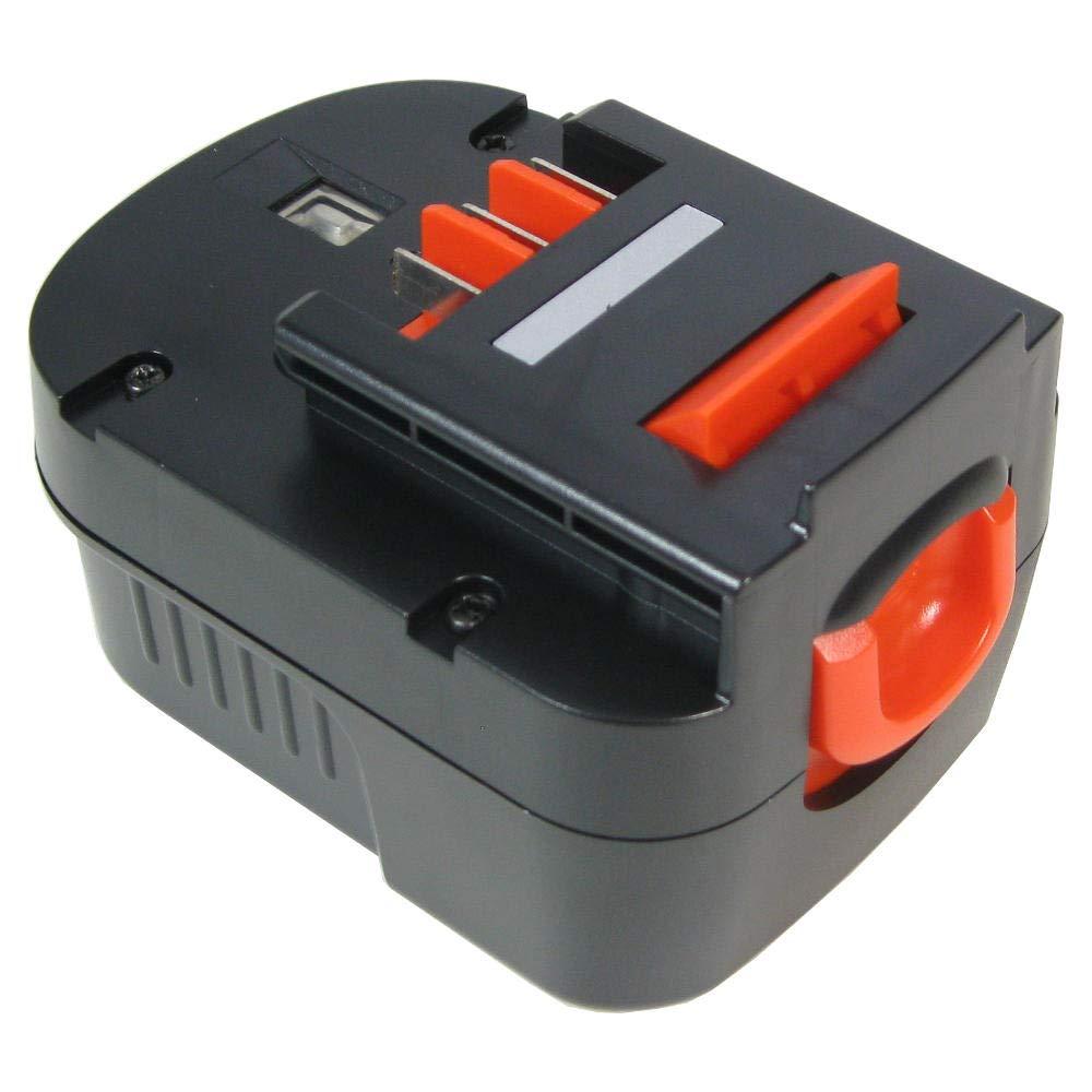 Werkzeug AKKU 12V 3300mAh ersetzt Black/&Decker A1712 FS120B FSB12 HPB12 B8315
