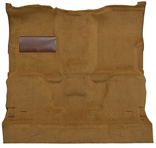Truck Standard Cab Carpet - ACC 1981 to 1987 Chevrolet Standard Cab Pickup Truck Carpet Custom Molded Replacement Kit, 2 Wheel Drive Automatic (830-Buckskin Plush Cut Pile)