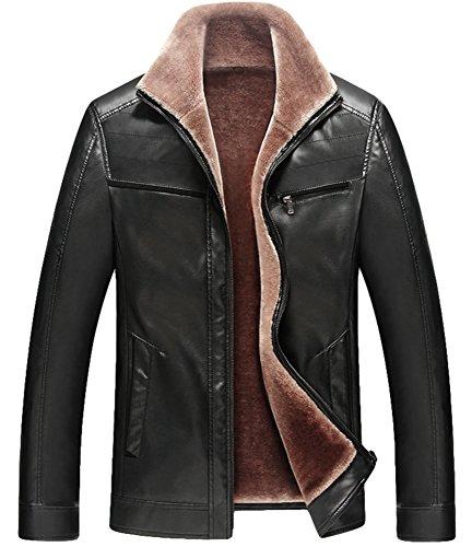 Cappotti Casual Stile Donna Invernali Calda Giacca In Di Black Spessore f Uomo Da Peso Models wvqUngT