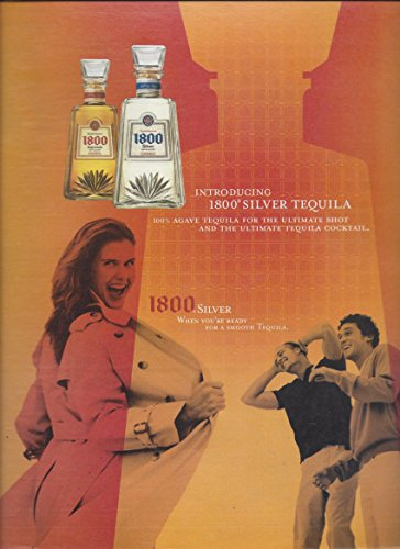 MAGAZINE AD For 2004 Cuervo 1800 Tequila Girl Flashing Guys In Overcoat