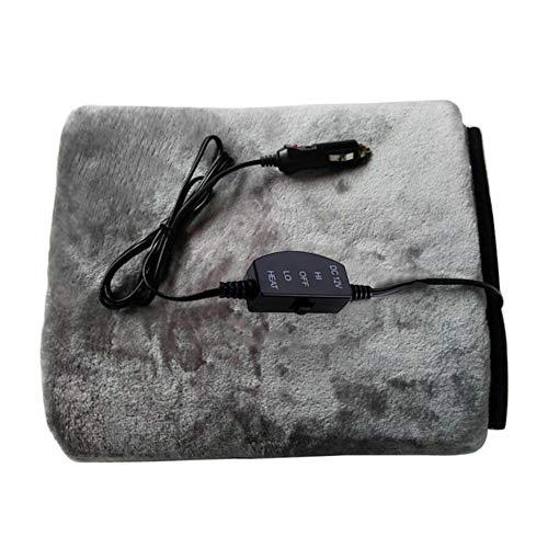 Heated Travel Blanket, 12 Volt Electric Car Blanket Travel T